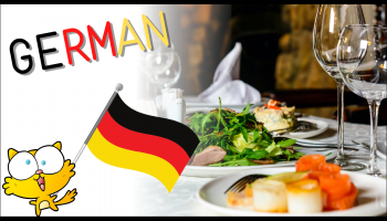 50 German phrases useful in restaurants - Dialogues in German in restaurants